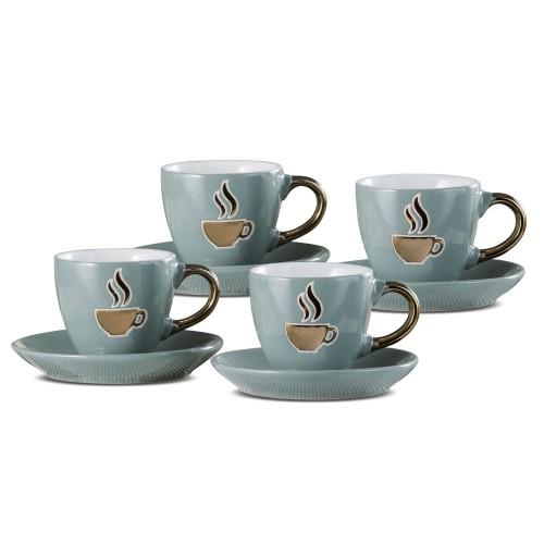 Набор кофейный на 4 персоны, керамика