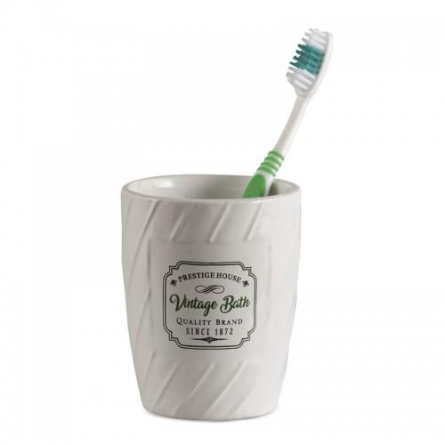 """Подставка для зубных щеток, керамика """"Niven"""" 8*10см"""